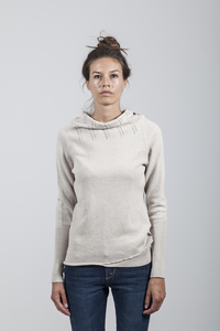 Emmy Knit Women Organic Cotton Sand - Minimal - Re-Bello