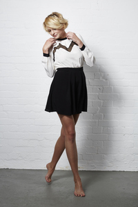 SKATER DRESS WHITE - Hati-Hati