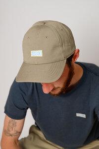 Kappe aus Bio-Baumwolle, beige - Barbeck