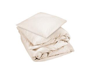 Bettwäscheset Jersey aus ungebleichter Bio-Baumwolle - Dibella good textiles