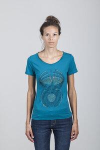 Amelia T-shirt Women Bamboo Ocean Depths - MCW - Re-Bello