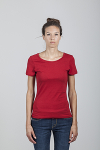 Denise T-Shirt Women Bamboo Chili Pepper - Minimal - Re-Bello