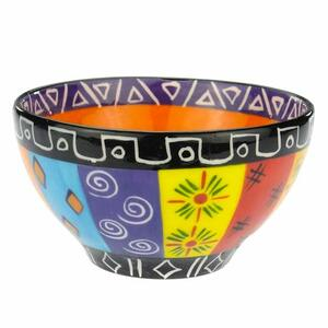 Multicoloured Ethnic - Müsli-/Obst-/Dessertschale - Kapula - Kapula Candles