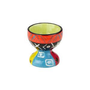 Multicoloured Ethnic - Eierbecher - Kapula Keramik - Kapula Candles