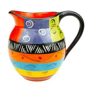 Multicoloured Ethnic - Krug 500ml - Kapula Keramik - Kapula Candles