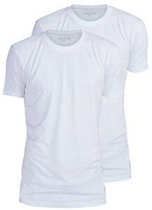 2er Pack - Extralange Basic Shirts slim fit - LANGER JUNG - LANGER JUNG