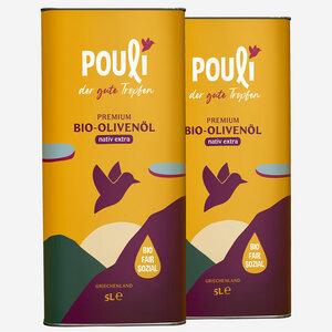 Ölreserve, nativ extra, 2 * Kanister (5-Liter) - Pouli Food