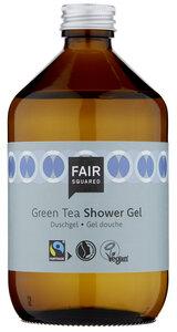 FAIR SQUARED Shower Gel Green Tea 500 ml, erfrischendes Duschgel mit pflegenden Grünteeextrakten - Fair Squared