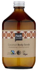 FAIR SQUARED Body Scrub Coconut 500 ml, sanftes Körperpeeling mit Kokosflocken - Fair Squared