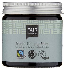 FAIR SQUARED Leg Balm Green Tea 50 ml, beruhigende Pflege für müde Beine - Fair Squared