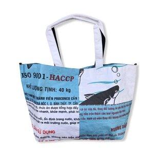 Tragetasche Ri1 recycelter Reissack - Beadbags