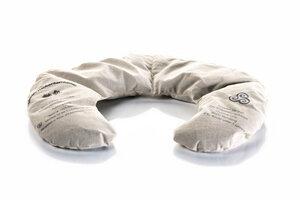 Nackenkissen mit Traubenkernfüllung und waschbarem Bezug - Schlafprojekte Lenz