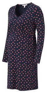 Umstands- Stillkleid navy rosa gemustert - Esprit maternity