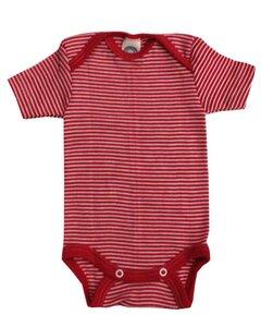 Cosilana Kurzarm Baby Body Wolle Seide - Cosilana