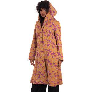 "Damen Jacke aus Bio Baumwolle (GOTS) ""Clara"" gemustert - Chapati Design"