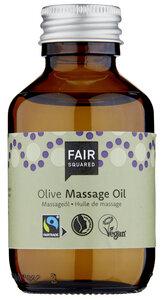 FAIR SQUARED Massage Oil Olive, Massageöl mit fair gehandeltem Olivenöl - Fair Squared