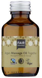 FAIR SQUARED Massage Oil Together 100 ml, wohltuendes Massageöl zur Entspannung - Fair Squared