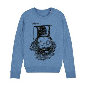 UNIABSCHLUSS - Damen Sweater aus Bio-Baumwolle von karlskopf - karlskopf