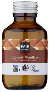 FAIR SQUARED Mundöl Coconut 100 ml, ayurvedisches Ölziehen, Zero Waste - Fair Squared