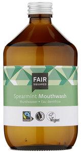 FAIR SQUARED Mundwasser Spearmint 500 ml, erfrischendes Mundwasser mit Pfefferminzgeschmack - Fair Squared