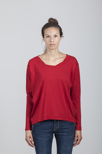 Eva T-shirt Women Bamboo Chili Pepper - Minimal - Re-Bello