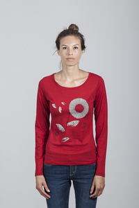 Grace T-shirt Women Bamboo Chili Pepper - SNFL - Re-Bello