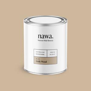 Natürliche Wandfarbe No. 03 Holly Wood 2,5 Liter - nawa