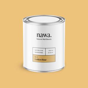 Natürliche Wandfarbe No. 11 Golden Hour 2,5 Liter - nawa