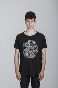 Peter T-Shirt Men Bamboo Black - PCA - Re-Bello