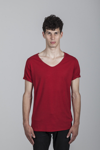 Michele T-shirt Men Bamboo Chili Pepper - Minimal - Re-Bello