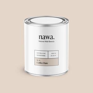 Natürliche Wandfarbe No. 12 Coffee Date 2,5 Liter - nawa