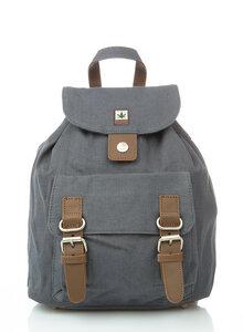 Mini-Rucksack aus Hanf und Bio-Baumwolle von PURE Concept (HF-0036) - PURE