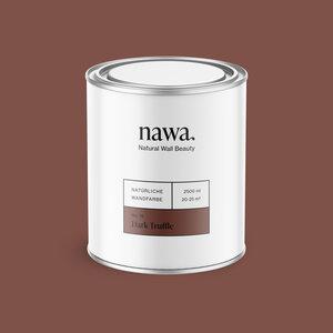 Natürliche Wandfarbe No. 15 Dark Truffle 2,5 Liter - nawa