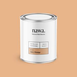 Natürliche Wandfarbe No. 18 Juicy Orange 2,5 Liter - nawa