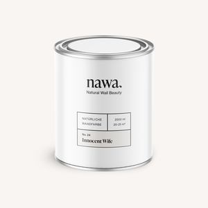 Natürliche Wandfarbe No. 24 Innocent Wife 2,5 Liter - nawa