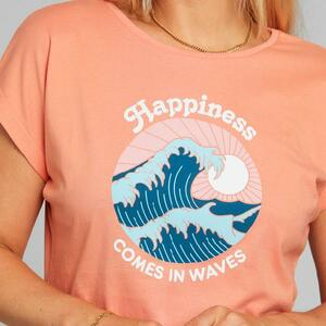 T-Shirt Visby Happiness  - DEDICATED