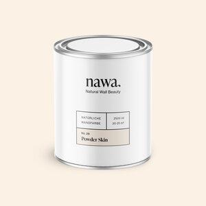 Natürliche Wandfarbe No. 29 Powder Skin 2,5 Liter - nawa
