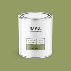 Natürliche Wandfarbe No. 30 Soft Avocado 2,5 Liter - nawa