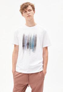 JAAMES PATCHWORK TREES - Herren T-Shirt aus Bio-Baumwolle - ARMEDANGELS