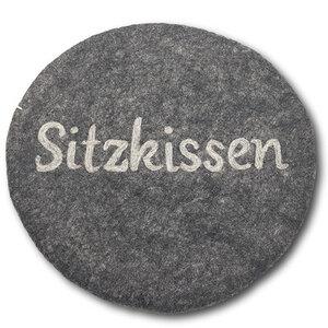 """Sitzkissen aus Filz rund Ø 35 cm """"Sitzkissen"""" - Frida Feeling"""