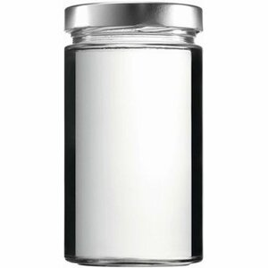 mikken Einmachglas 700 ml mit PVC freiem Schraubverschluss - mikken
