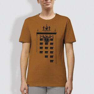 "Frauen T-Shirt, ""Turmuhr"", Roasted Orange - little kiwi"