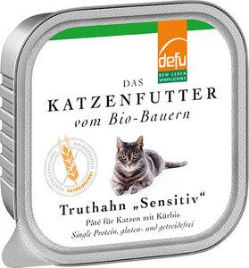 defu Bio Truthahn Sensitiv Pâté für Katzen - defu
