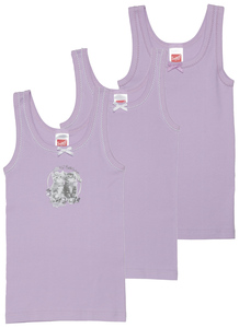 Mädchen Unterhemden 3er Pack - Sweety for kids