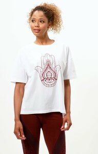 Soft Boyfriend T-Shirt Hamsa Bio Baumwolle - OGNX