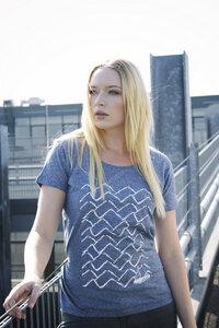 Ahoi 3.0 Women T-Shirt Organic & Fair Wear - ilovemixtapes