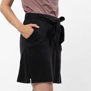 Rock Damen - Tencel + Bio-Baumwolle schwarz/olivgrün - Vresh Clothing