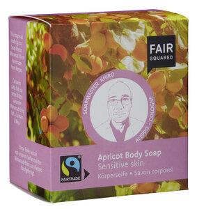 FAIR SQUARED Apricot Body Soap Sensitive Skin 2 x 80 g - Fair Squared