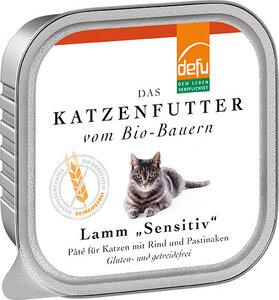 defu Bio Lamm Sensitiv Pâté für Katzen - defu - dem Leben verpflichtet