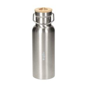 Edelstahlflasche MuC Bottle   Thermoflasche mit Bambus   500 ml - up2u